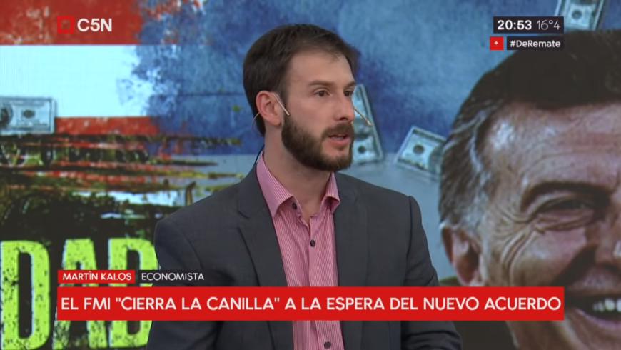 (Español) Martín Kalos en C5N sobre dolarización y política cambiaria